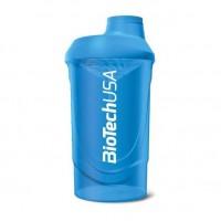 BioTech Wave shaker 600 ml (blue)