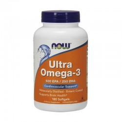 NOW Ultra Omega 3 180 софтгель