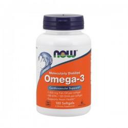 NOW Omega-3 100 softgels