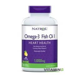 Natrol Omega Fish Oil 1000 mg 150 softgels
